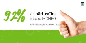 92% grāmatvedības ārpakalpojumu sniedzēju ar pārliecību iesaka MONEO!